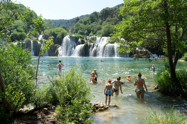 Wonderful World, Krka Waterfalls, Croatia | Little Big Traveling Camera