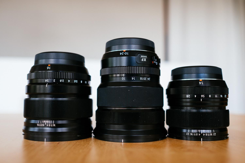 What Wide? Fuji XF 14mm vs XF 16mm vs XF 10-24mm | Little